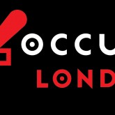 occupy london 2 lines black col