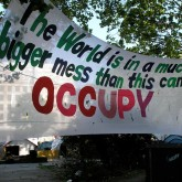 Finsbury Square Camp (Occupy 25/05/12).