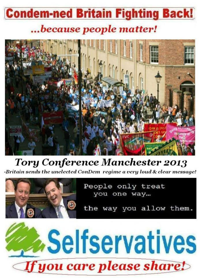 Mass Demo rejecting ConDems selling off the NHS.