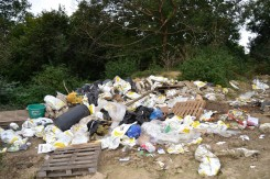 Photo of how the Cuadrilla site has been treated.
