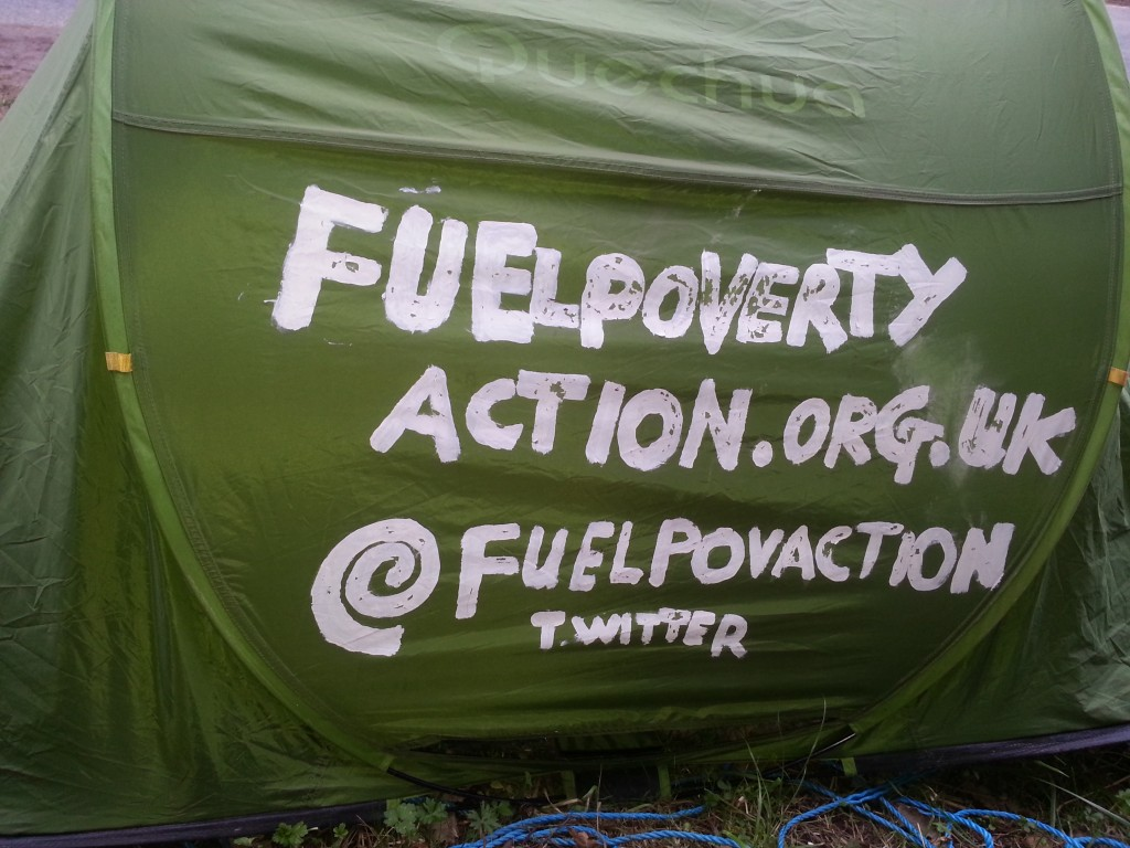 Fuel Poverty Action Tent