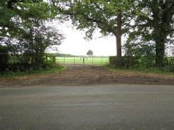 Potential site entrance