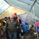 thank God for the photographer. @ Balcombe Community protection Camp Vigil eviction. 19th November 2013.