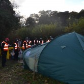 We were well and truly out numbered at the eviction of BCPC VIGIL 19th November 2013