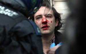 Britain Student Protest