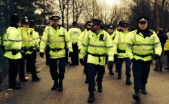 Barton Moss Policing