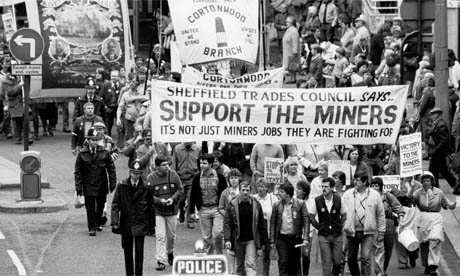 Support the Miners.