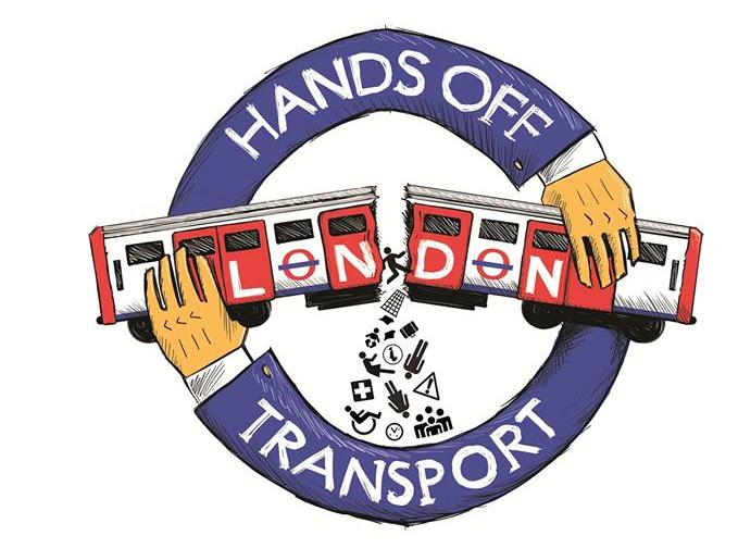 HANDS OFF LONDON TRANSPORT