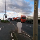 iGas Lorries A57. Photo: Tristan Woodwards