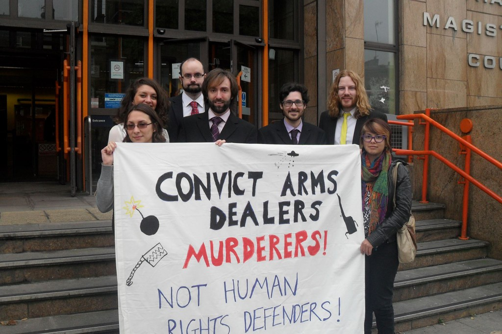 The Arms Dealers' First Court Hearing