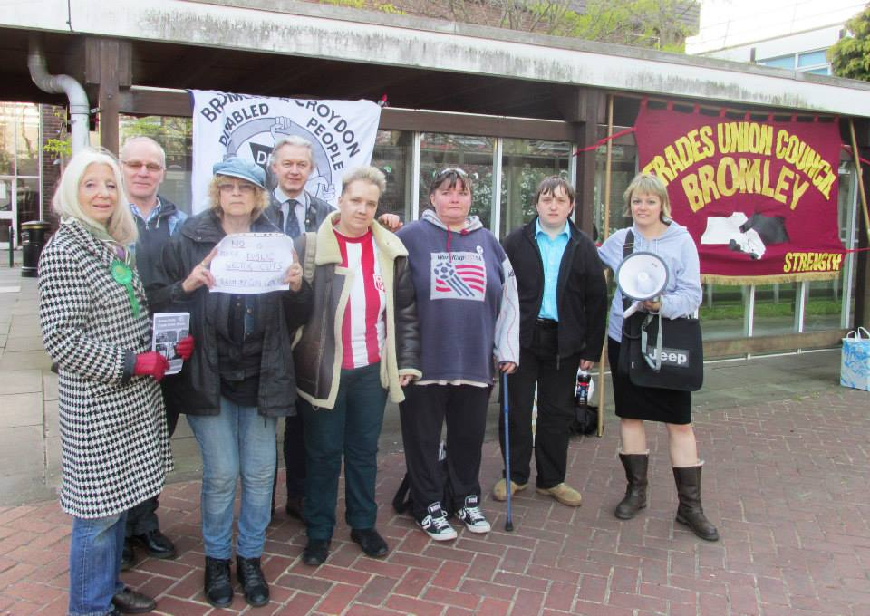Bromley Bedroom Tax Petition by Paula Peters