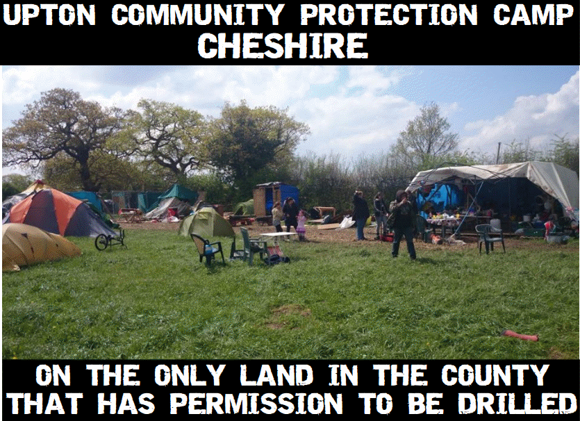 Upton Community Protection Camp.