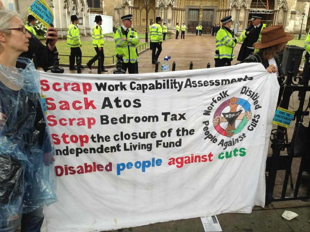 OccupyWestminster Abbey. SaveILF
