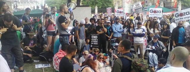 gaza public assembly