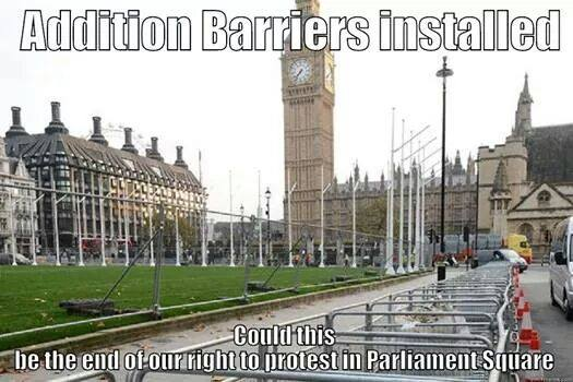 Parliamentsqbarriers