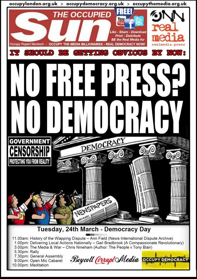 NoFreePressNoDemocracy