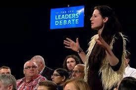 LeadersDebateHeckler
