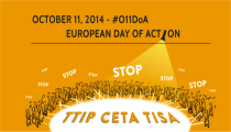 NoTTIP ACTION DAY 11th OCTOBER UPDATE