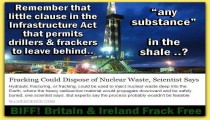 Tories try to sneak in laws opening parks to Frackers and Nuclear waste