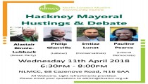Hackney Mayoral Hustings 11/04/2018 LE2018