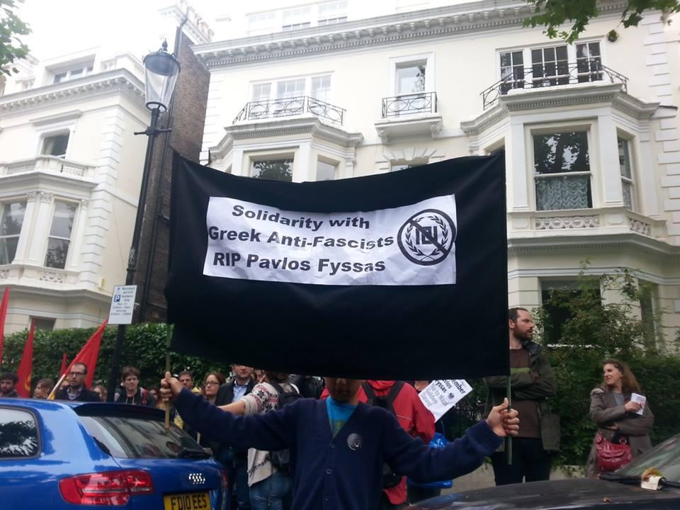 Solidarty with Greek Anti-Fascists. RIP Pavlos Fyssas