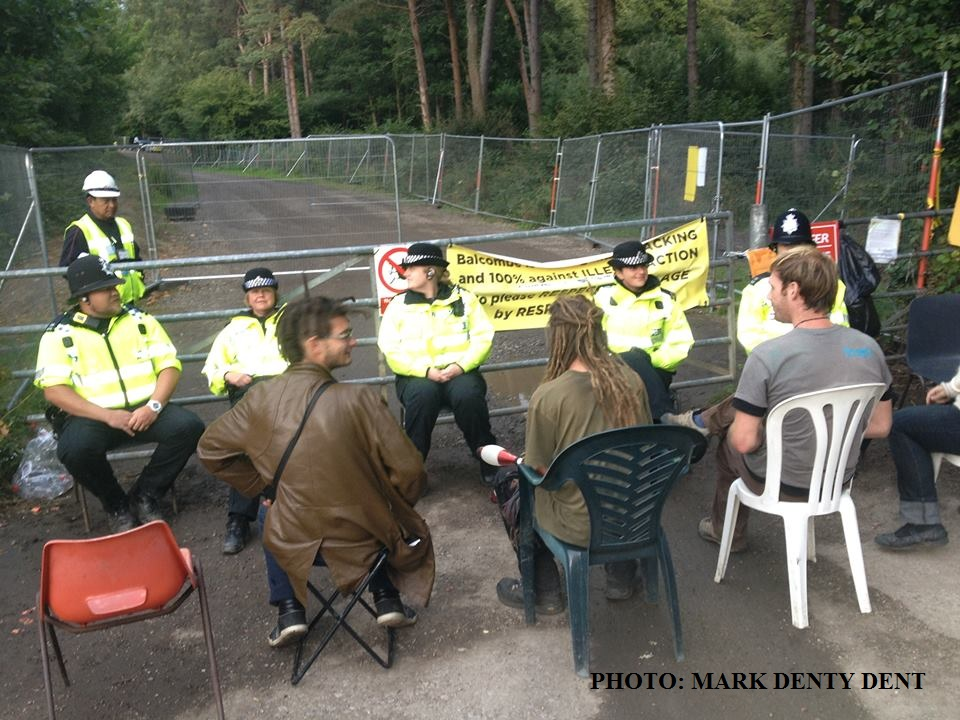 Last nights speed-dating before Inspector Sourgrapes confiscated the chairs and probably reprimanded his subordinates.