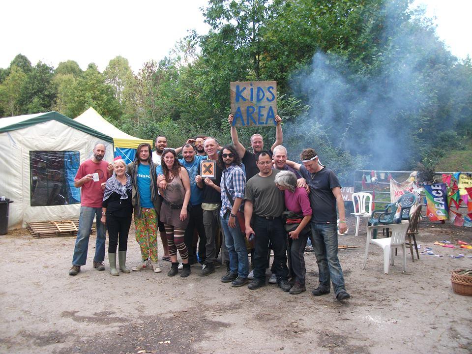 Camp Tat Down at Balcombe