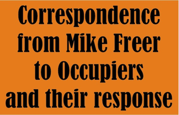 mike freer corespondence