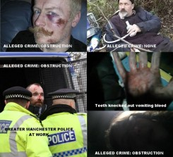 Greater Manchester Police Actions