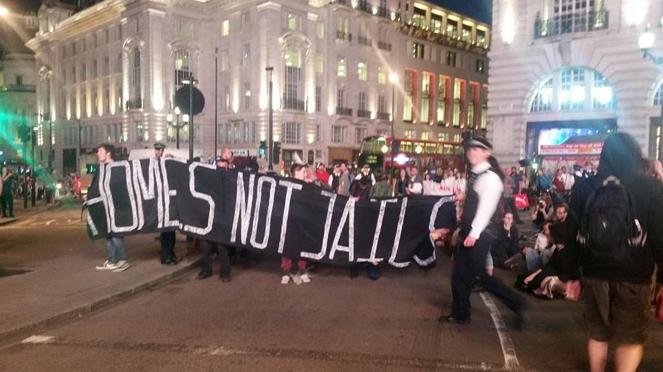 Homes Not Jails. Photo: Mary Jezebel Jane